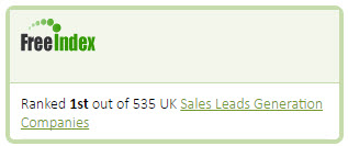 Max-e-Biz Ltd. Ranked #1 out of 535 UK Lead Generation Companies - FreeIndex