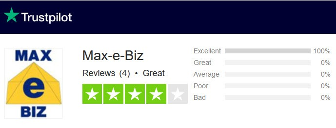 Max-e-Biz Reviews - TrustPilot - For The PPC Management Company