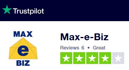 Tustpilot Reviews for Max-e-Biz Ltd.